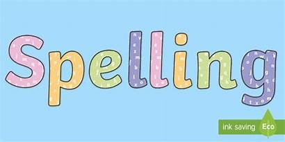 Lettering Display Spelling Title Alphabet Themed Resource