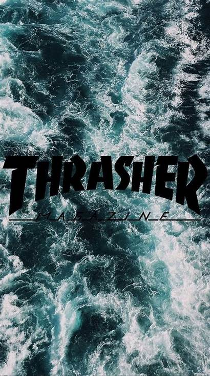 Thrasher Wallpapers Ocean Iphone Picserio Phone Edgy