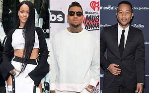 Rihanna, Chris Brown, & John Legend Blast Donald Trump ...