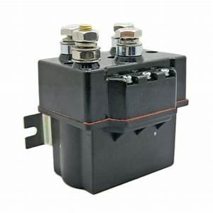 New  12v Contactor Heavyduty Solenoid Relay Wireless