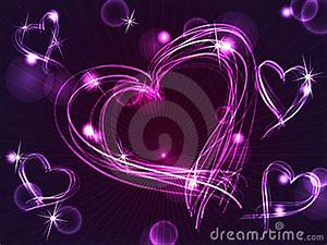 Image Gallery neon purple