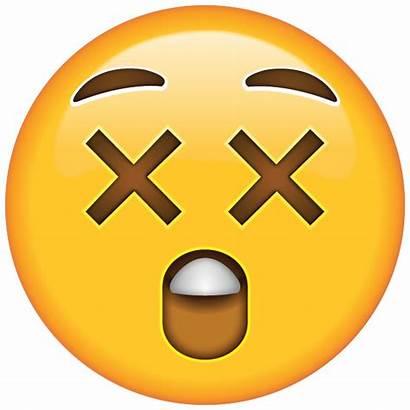 Emoji Face Astonished Clipart Icon Emojis Surprise