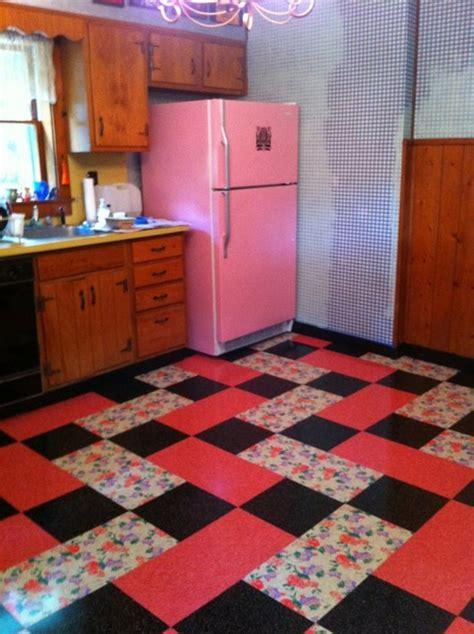 vintage kitchen flooring vintage kitchen installed flooring vinyl printed vinyl 3217