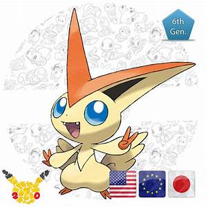 Victini 20th Anniversary - PokemonGet - Ottieni tutti i ...