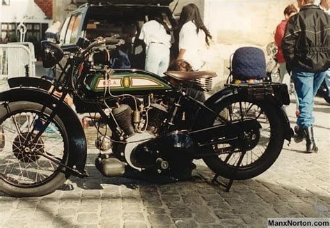 Bsa 1927 Type E V-twin