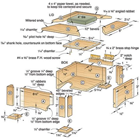 wooden keepsake box plans plans diy