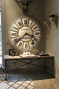 Grosse Pendule Murale : l 39 horloge murale id es en photos pour d corez vos murs ~ Teatrodelosmanantiales.com Idées de Décoration