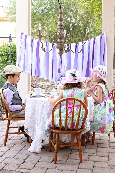party downton abbey tea party  kids  vanessa craft