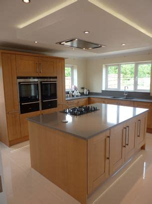 extractor fan for island in kitchen suspended ceiling with lights and flat extractor 9663