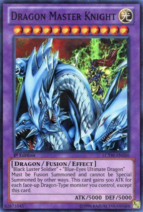 yu gi oh dragon master knight lcyw en050 legendary