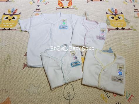 jual promo baju bayi tangan pendek baju baby fluffy size s sni di lapak enzel baby shop