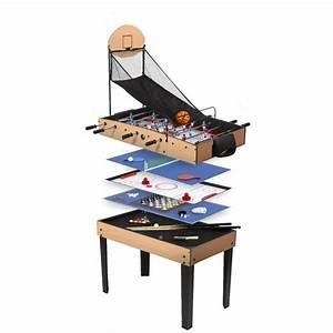 Table Jeux D Eau : rene pierre table de jeux basket 9 en 1 achat vente ~ Melissatoandfro.com Idées de Décoration