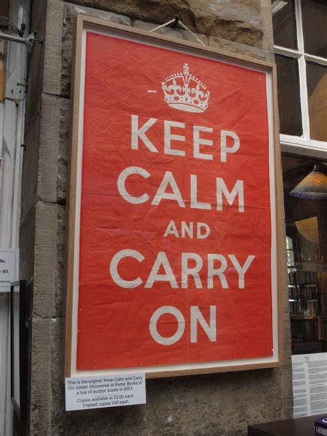 KEEP CALM AND CARRY ON Dreams of my Little World