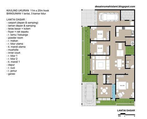 contoh desain rumah minimalis kamar lengkap kreatif