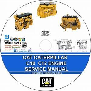 Cat Caterpillar C10 C12 C15 C16 C18 Engine Service Repair