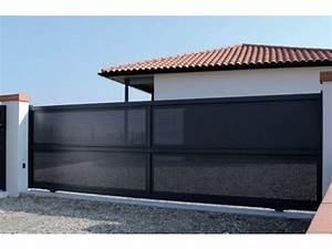 Portail Coulissant Sur Rail : portails coulissants fournisseurs industriels ~ Edinachiropracticcenter.com Idées de Décoration