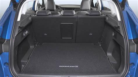 opel grandland   dimensions boot space  interior