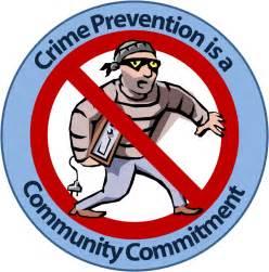 Crime Prevention Clip Art