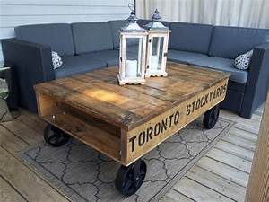 industrial pallet coffee tables modern coffee tables With homemade furniture toronto