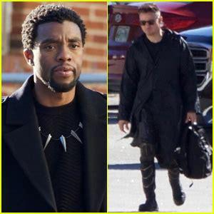 Chadwick Boseman Jeremy Renner Suit For Avengers