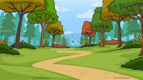 clipart forest woods graphics illustrations