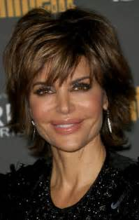 Lisa Rinna Layered Hairstyle