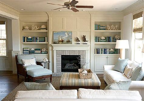 Built In Bookcase Around Fireplace by J Adore Decor Fireplace Alcoves