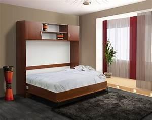 Lit Double Escamotable Ikea : lit mural escamotable lm506 109 boutique tendance ~ Melissatoandfro.com Idées de Décoration