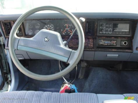 1989 Plymouth Reliant K LE America Blue Dashboard Photo ...