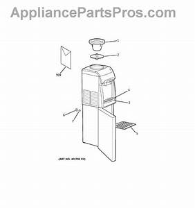 Parts For Ge Gxcf05d  Hot  U0026 Cold Water Dispenser Parts