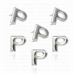 Buchstaben Zum Aufkleben Wetterfest : p metall buchstaben niete alphabet nieten spezial ~ Watch28wear.com Haus und Dekorationen