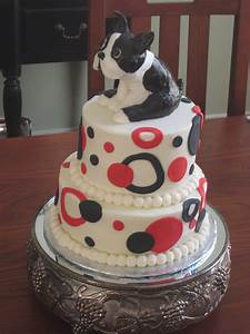 ~fOr THe lOvE oF CakE~: Brothers Boston Terrier Birthday Cake  Cake