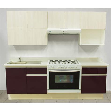 cocina integral rouge  estufa derecha tarja