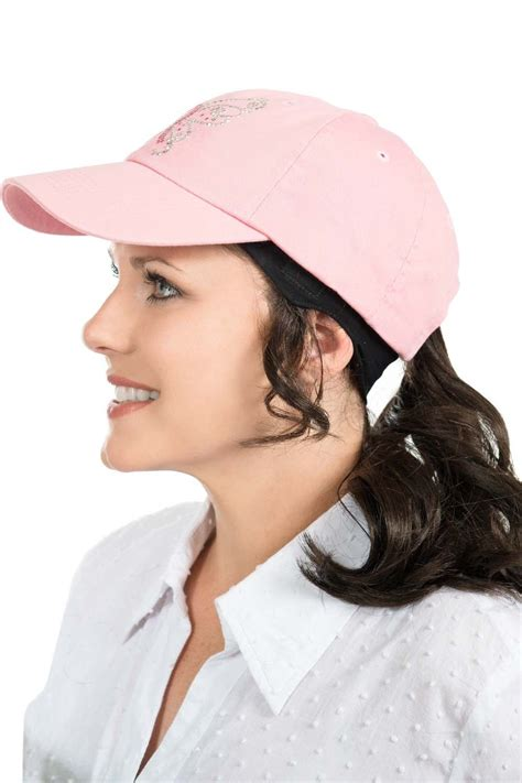ponytail headband  hats baseball cap  hair