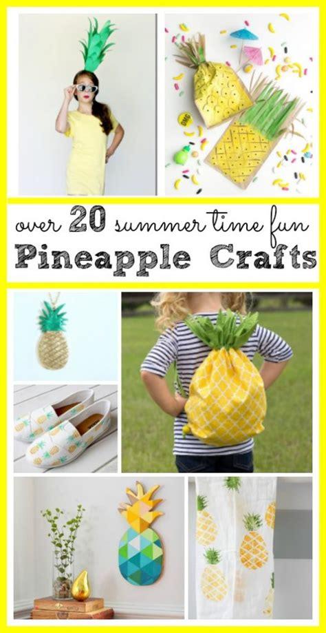 pineapple craft roundup sugar bee crafts 590 | Pineapple crafts 528x1024