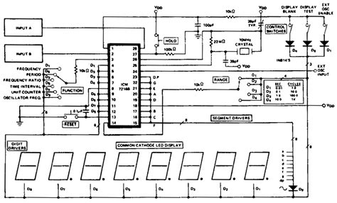 Mhz Universal Counter Circuit Diagram Electronic
