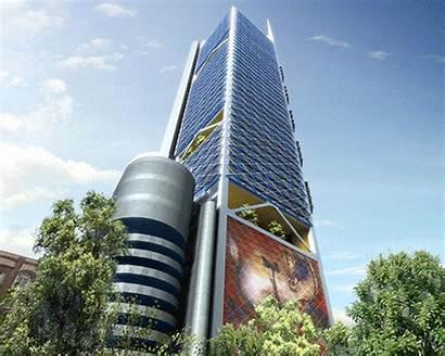 Building Bbva Tallest Bancomer Torre Mexico