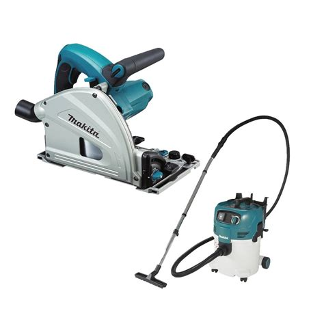Makita Plunge Cut Circular Saw And Vacuum Makcombo026