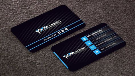 business card template cdr   cards design