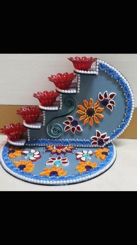 beautiful diya stand amazingmeeeee diwali craft