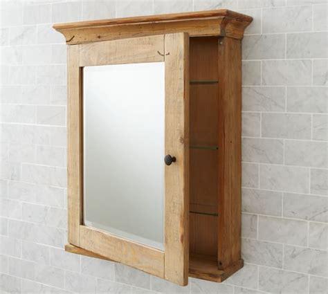 mason reclaimed wood wall mounted medicine cabinet wax