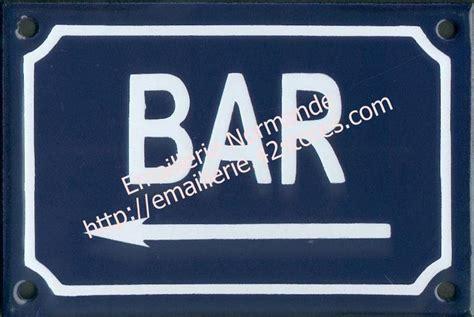 pochoir pour cuisine panneau étiquette pancarte plaque acier émaillé bar