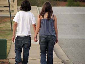 Holding Hands Couple | Free Stock Photo | Teen boy and ...