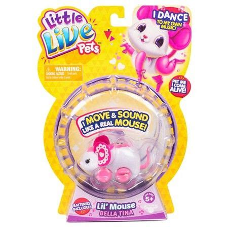 Lol fluffy pets in the winter disco series are absolutely the best lol surprise! Little Live Pets Lil' Mouse - Bella Tina : Target | Little ...