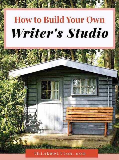writing shed how to build your own writer s studio 5 beautiful shed