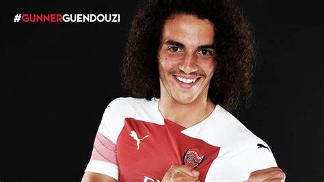 Pictures: Matteo Guendouzi in Arsenal colours