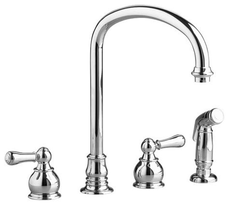 american kitchens faucet american standard double handle kitchen faucet with metal lever handles contemporary kitchen