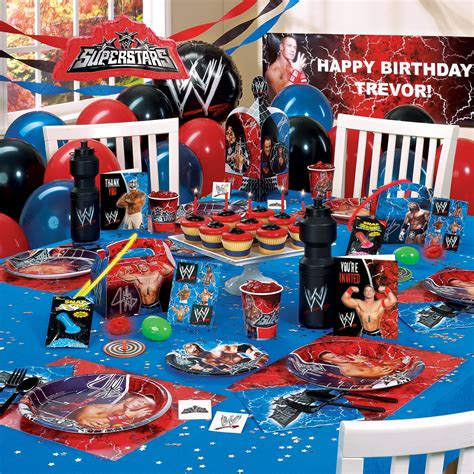 wwe ultimate party pack birthday party fun