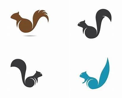 Squirrel Icon Vector Isolated Icons Clipart Graphics