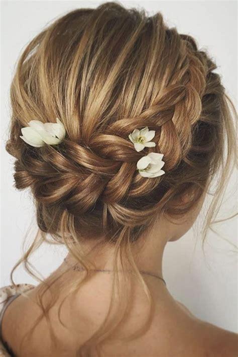 30 Chic Wedding Hairstyles for Short Hair Short wedding